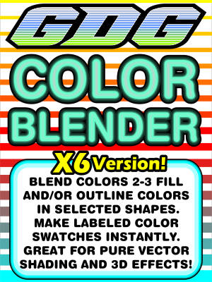 GDG Color Blender Plus Free Bonus Macro: GDG Randomize-A-Tron for X6