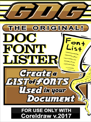 GDG Document Font Lister for v.2017