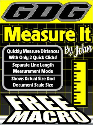 GDG Measure It CorelDRAW macro