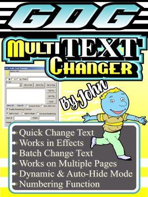GDG Multi Text Changer by John for X5 and below