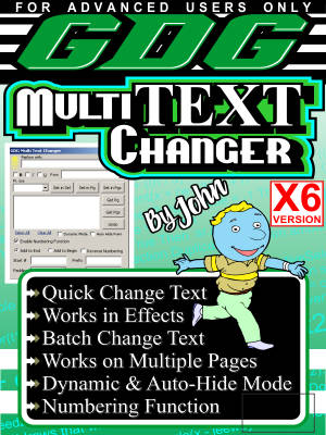 GDG Multi Text Changer for X6