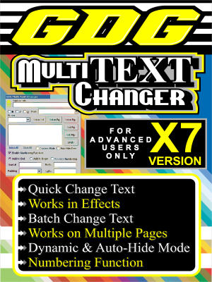 GDG Multi Text Changer for X7