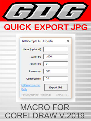 GDG Simple JPG Exporter for v.2019