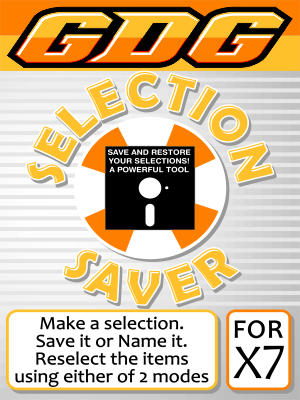 GDG Selection Saver for X7