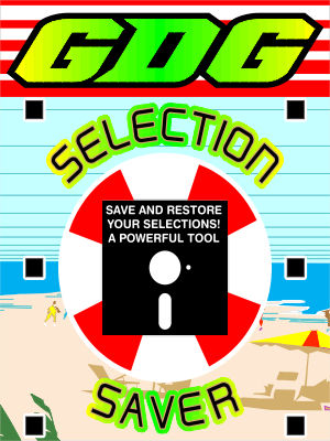 GDG Selection Saver by John for X5 and below