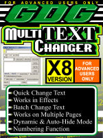 GDG Multi Text Changer for X8