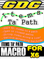 GDG Items Ta Path for X6