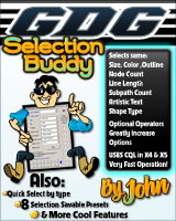 GDG Selection Buddy by John for X5 and below