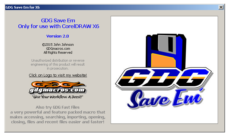 gdg save em macro for saving files cdr ai eps Pic 3