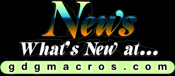 news...Cool New CorelDraw Macros!